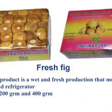 انجیر مرطوب پرسی ۲۰۰ گرمیPressed wet figs 200 g